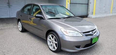 2005 Honda Civic for sale at Discount Motor Sales LLC in Wenatchee WA