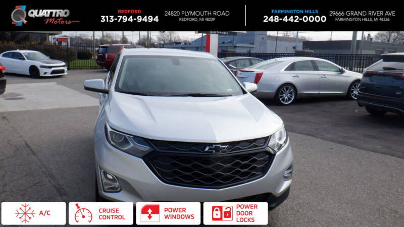 2018 Chevrolet Equinox for sale at Quattro Motors 2 - 1 in Redford MI