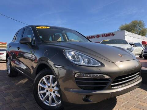2014 Porsche Cayenne for sale at Cars of Tampa in Tampa FL