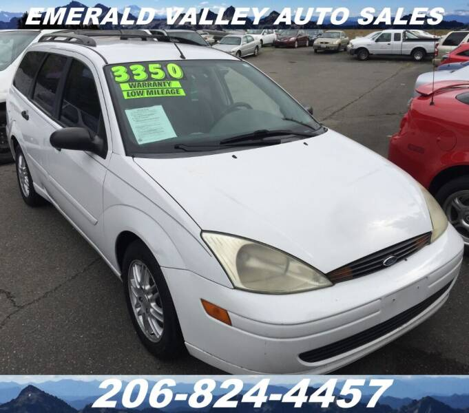 2002 Ford Focus for sale at Emerald Valley Auto Sales in Des Moines WA