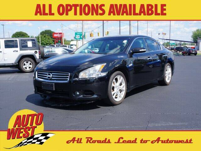 2012 Nissan Maxima for sale at Autowest of Plainwell in Plainwell MI