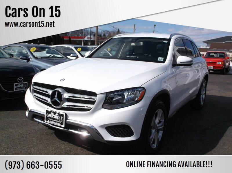 2016 Mercedes-Benz GLC for sale at Cars On 15 in Lake Hopatcong NJ
