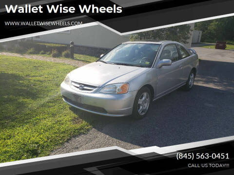 2002 Honda Civic for sale at Wallet Wise Wheels in Montgomery NY