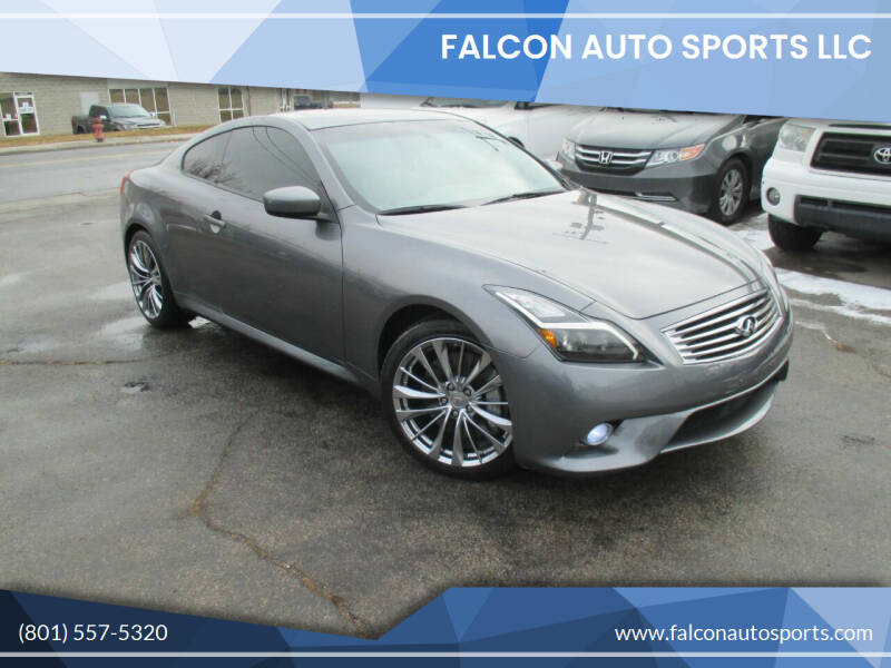 2012 Infiniti G37 Coupe for sale at Falcon Auto Sports LLC in Murray UT