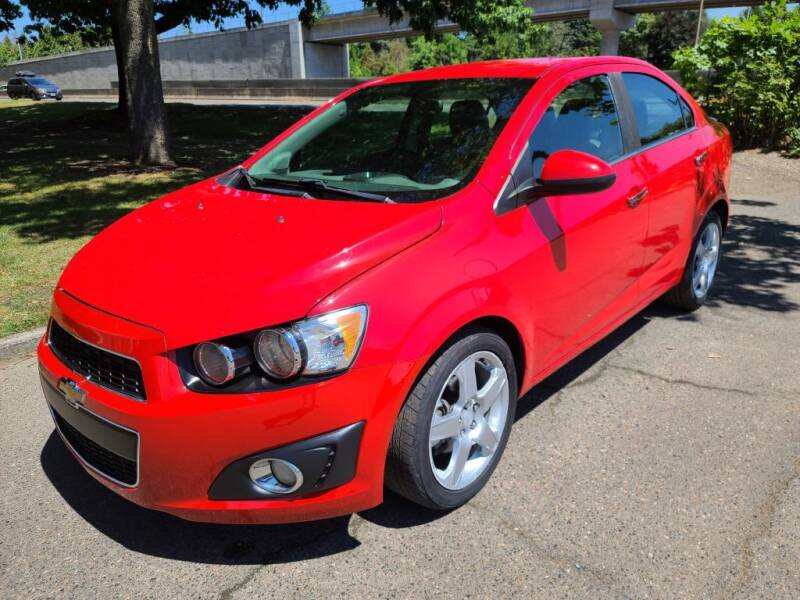 2015 Chevrolet Sonic for sale at EXECUTIVE AUTOSPORT in Portland OR
