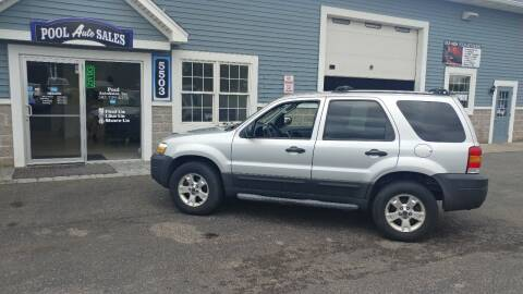 2006 Ford Escape for sale at Pool Auto Sales Inc in Spencerport NY