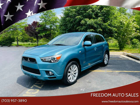 2011 Mitsubishi Outlander Sport for sale at Freedom Auto Sales in Chantilly VA