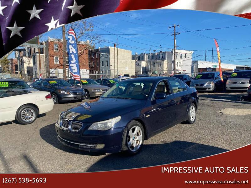 2008 BMW 5 Series for sale at Impressive Auto Sales in Philadelphia PA