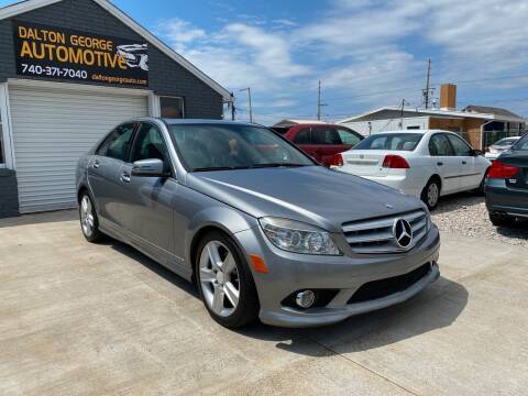 2010 Mercedes-Benz C-Class for sale at Dalton George Automotive in Marietta OH