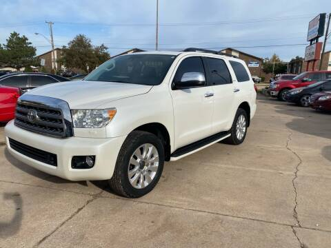 2013 Toyota Sequoia for sale at Car Gallery in Oklahoma City OK