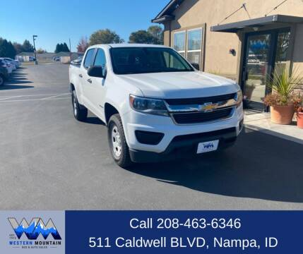 2015 Chevrolet Colorado for sale at Western Mountain Bus & Auto Sales in Nampa ID