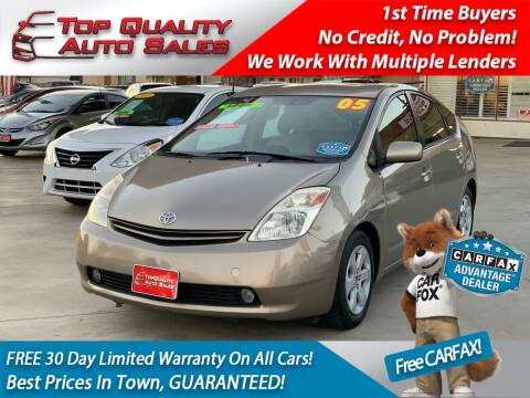 2005 Toyota Prius for sale at Top Quality Auto Sales in Redlands CA