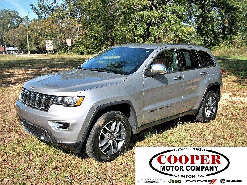 2019 Jeep Grand Cherokee for sale at Cooper Motor Company in Clinton SC