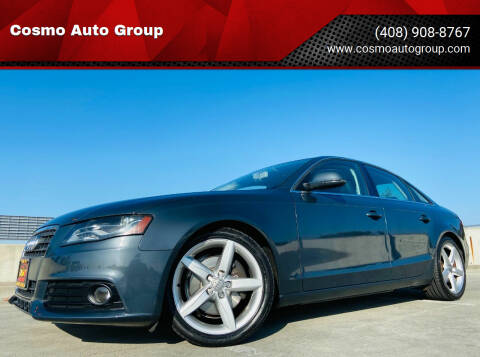 2009 Audi A4 for sale at Cosmo Auto Group in San Jose CA