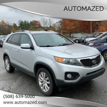 2011 Kia Sorento for sale at Automazed in Attleboro MA