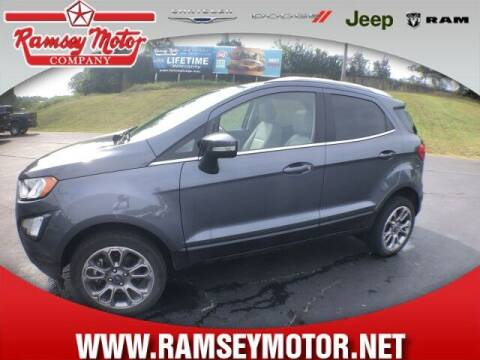 2018 Ford EcoSport for sale at RAMSEY MOTOR CO in Harrison AR