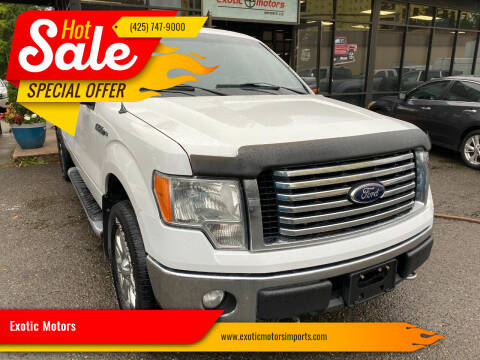 2012 Ford F-150 for sale at Exotic Motors in Redmond WA