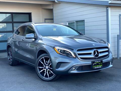2015 Mercedes-Benz GLA for sale at Lux Motors in Tacoma WA