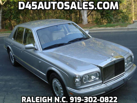 2000 Rolls-Royce Silver Seraph for sale at D45 Auto Brokers in Raleigh NC