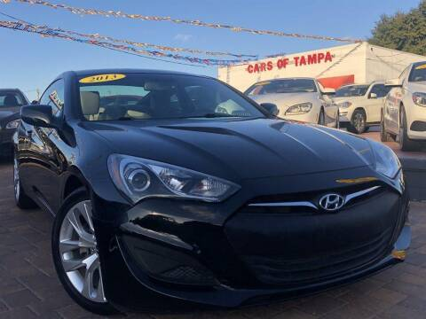 2013 Hyundai Genesis Coupe for sale at Cars of Tampa in Tampa FL