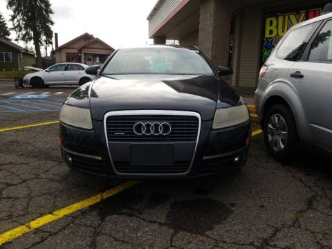 2006 Audi A6 for sale at 2 Way Auto Sales in Spokane Valley WA