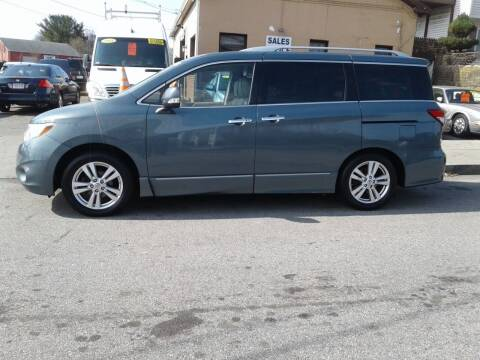 2011 Nissan Quest for sale at Nelsons Auto Specialists in New Bedford MA