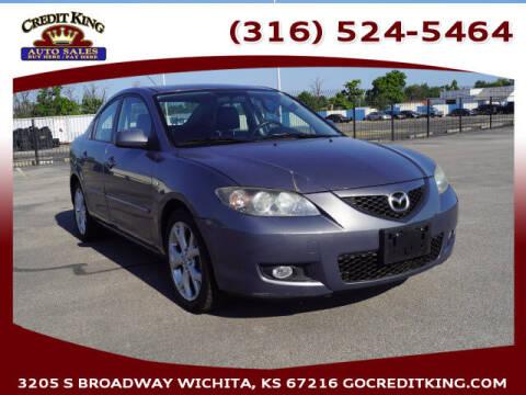 2009 Mazda MAZDA3 for sale at Credit King Auto Sales in Wichita KS
