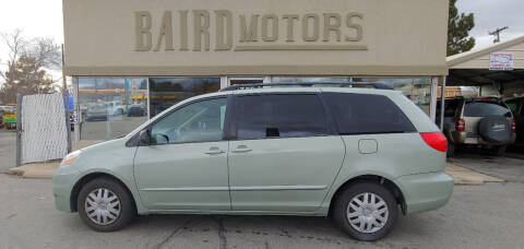 2008 Toyota Sienna for sale at BAIRD MOTORS in Clearfield UT