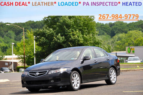 2007 Acura TSX for sale at T CAR CARE INC in Philadelphia PA