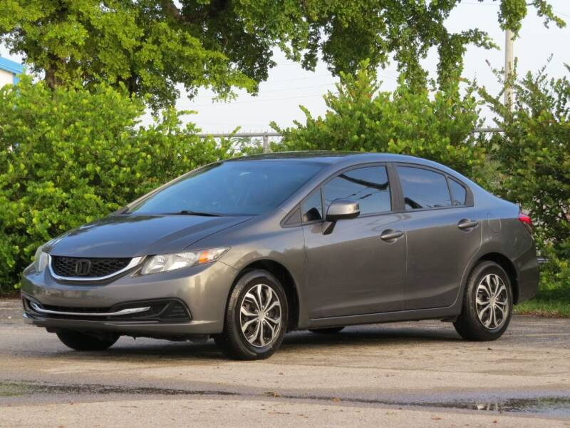 2013 Honda Civic for sale at DK Auto Sales in Hollywood FL