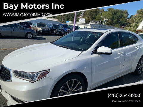 2019 Acura TLX for sale at Bay Motors Inc in Baltimore MD