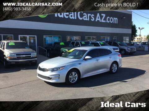 2018 Kia Optima for sale at Ideal Cars Broadway in Mesa AZ