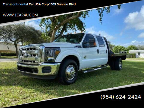 2011 Ford F-350 Super Duty for sale at Transcontinental Car in Fort Lauderdale FL