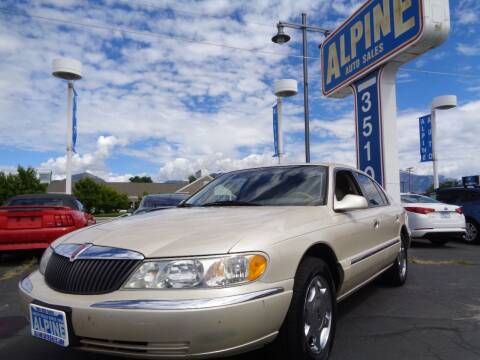 2001 Lincoln Continental for sale at Alpine Auto Sales in Salt Lake City UT