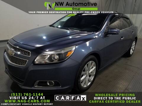 2013 Chevrolet Malibu for sale at NW Automotive Group in Cincinnati OH