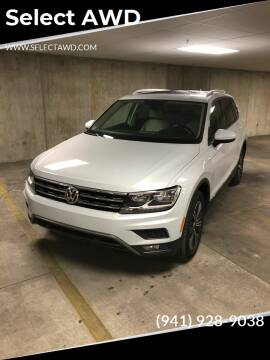 2019 Volkswagen Tiguan for sale at Select AWD in Provo UT