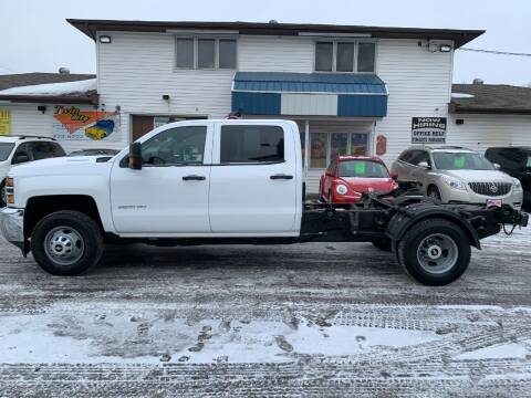 2019 Chevrolet Silverado 3500HD CC for sale at Twin City Motors in Grand Forks ND