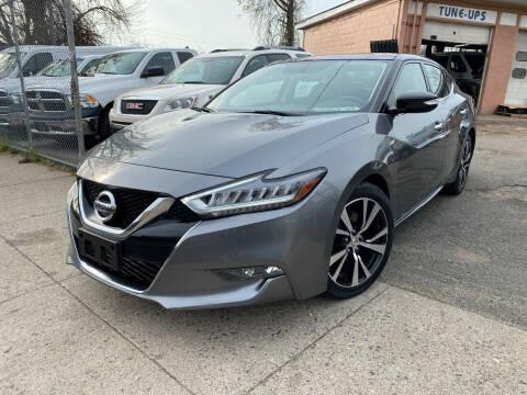 2019 Nissan Maxima for sale at Seaview Motors and Repair LLC in Bridgeport CT