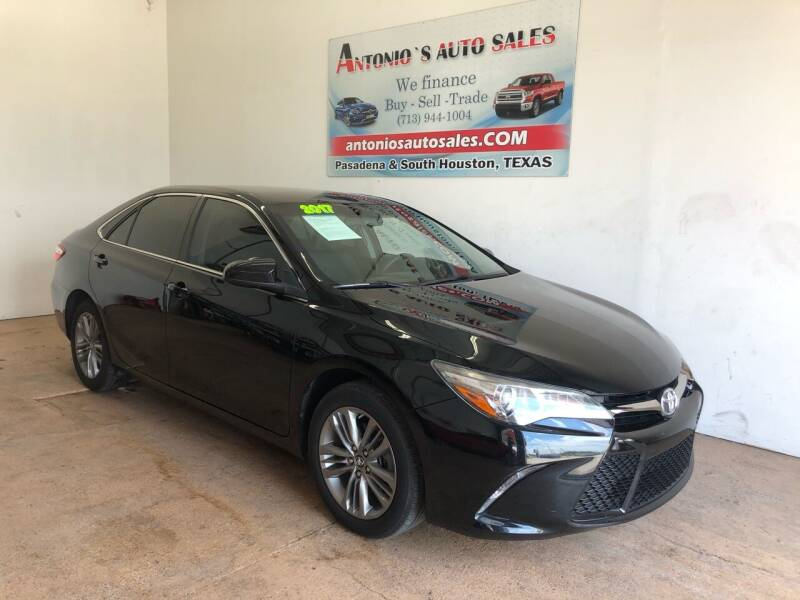 2017 Toyota Camry for sale at Antonio's Auto Sales in South Houston TX