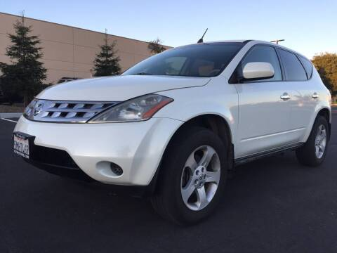 2005 Nissan Murano for sale at 707 Motors in Fairfield CA