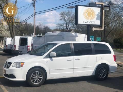 2014 Dodge Grand Caravan for sale at Gaven Auto Group in Kenvil NJ