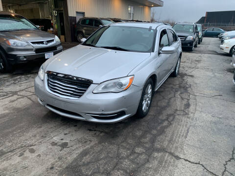 2012 Chrysler 200 for sale at Six Brothers Auto Sales in Youngstown OH