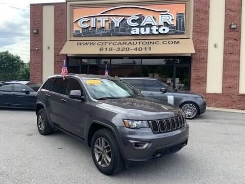 2016 Jeep Grand Cherokee for sale at CITY CAR AUTO INC in Nashville TN