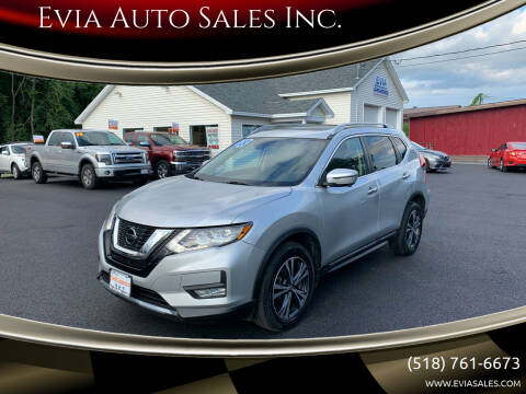 2018 Nissan Rogue for sale at Evia Auto Sales Inc. in Glens Falls NY