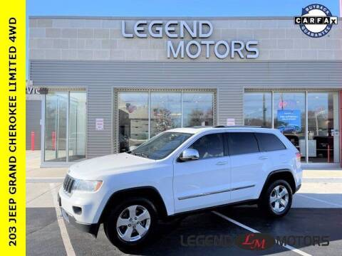 2013 Jeep Grand Cherokee for sale at Legend Motors of Waterford in Waterford MI