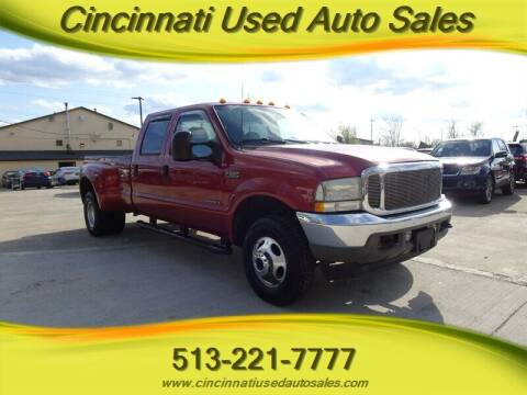 2002 Ford F-350 Super Duty for sale at Cincinnati Used Auto Sales in Cincinnati OH