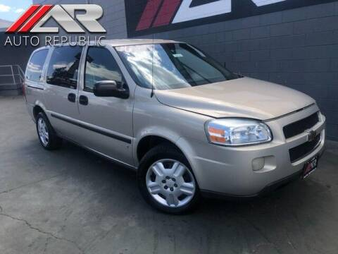 2007 Chevrolet Uplander for sale at Auto Republic Fullerton in Fullerton CA