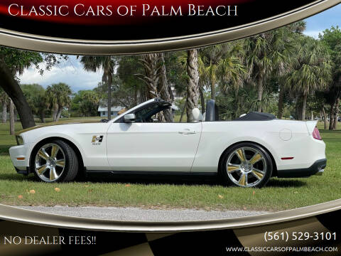 2010 Ford Mustang for sale at Classic Cars of Palm Beach in Jupiter FL