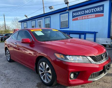 2014 Honda Accord for sale at Mario Motors in South Houston TX