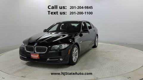 2016 BMW 5 Series for sale at NJ State Auto Used Cars in Jersey City NJ
